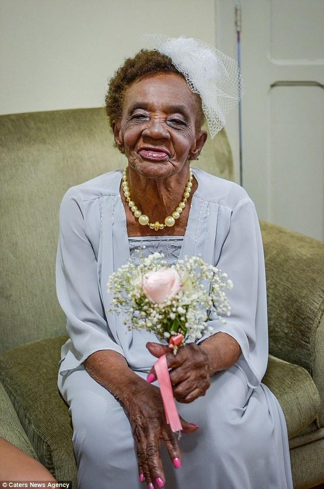 پیرزن 106 ساله برزیلی رکورد بالاترین سن ازدواج را شکست+تصاویر