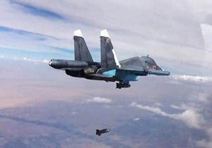 حملات روسیه و سوریه به تروریست ها در دیرالزور