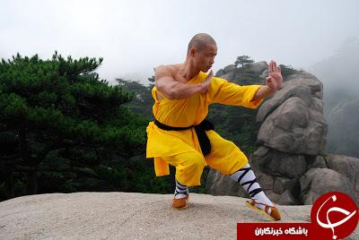 تمرینات سخت و نفس گیر معبد شائولین+تصاویر