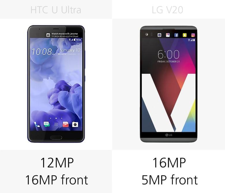 مقایسه گوشی LG V20 با HTC U Ultra / در حال کار