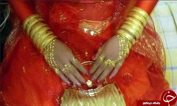 گرانترین عروس جهان +تصاویر