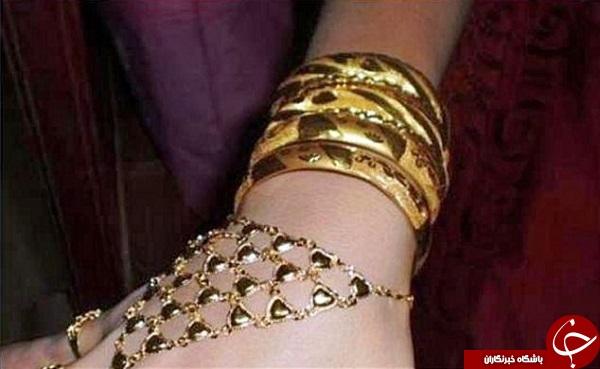 گرانترین عروس دنیا , عروس گران قیمت دنیا , عروس چینی با شش کیلو طلا , عروس با شش کیلو طلا