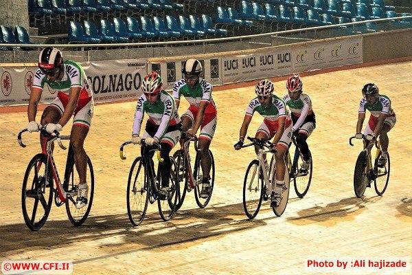 حذف رکابزنان ایرانی از ماده تعقیبی رقابت های قهرمانی آسیا