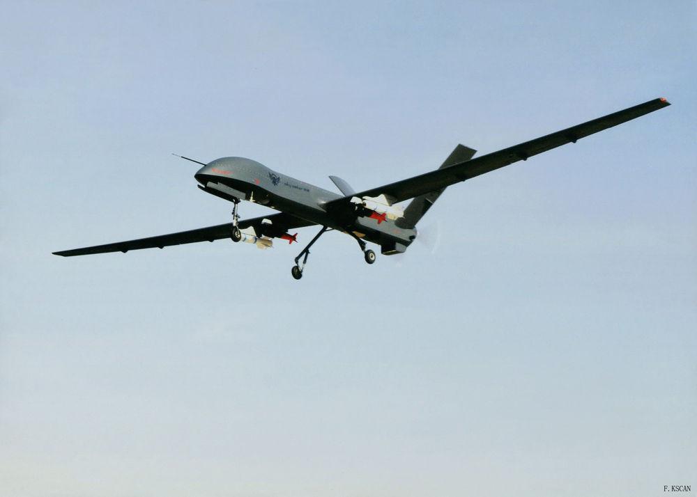 پهباد سي اچ 4 نابود کننده داعش در عراق
