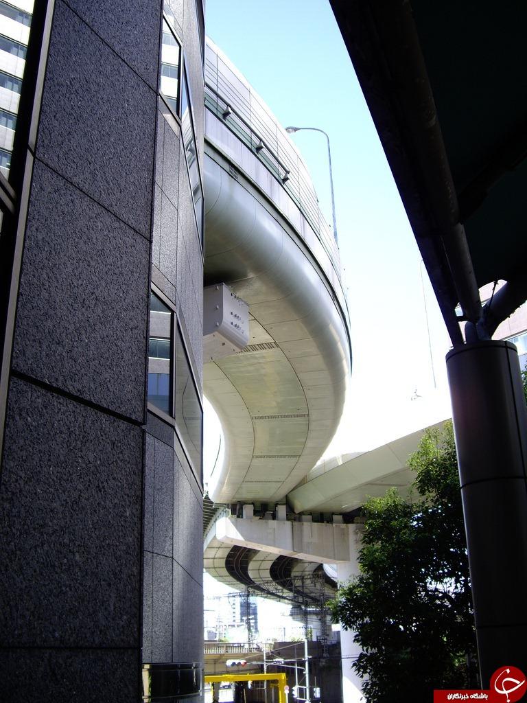 عبور حیرت انگیز بزرگراهی از داخل یک ساختمان+تصاویر