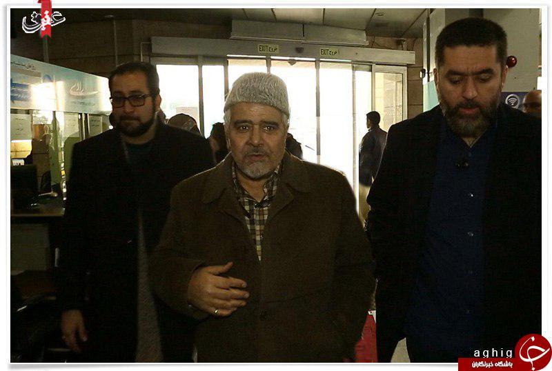 مداح معروف در جشنواره فیلم فجر+عکس