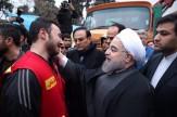باشگاه خبرنگاران -گریه یک آتشنشان در آغوش رئیس جمهور+ تصاویر