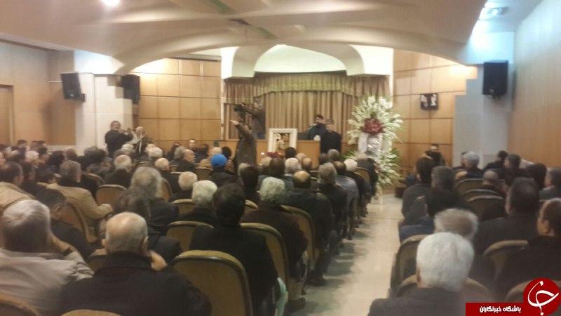 مراسم یادبود حسن جوهرچی + تصاویر
