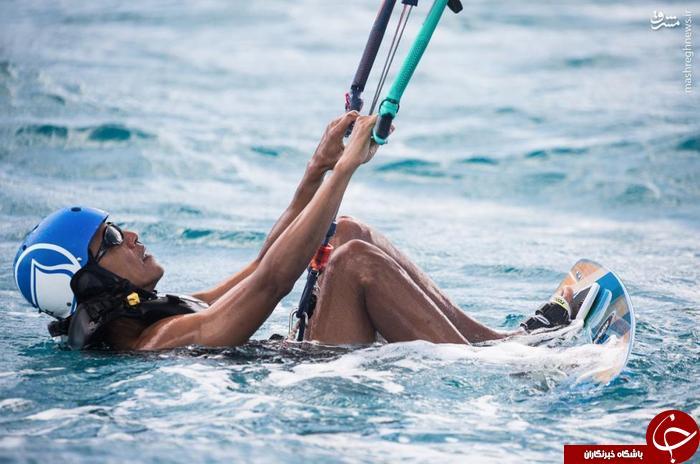 تفریح لوکس اوباما بعد از ریاست جمهوری+عکس