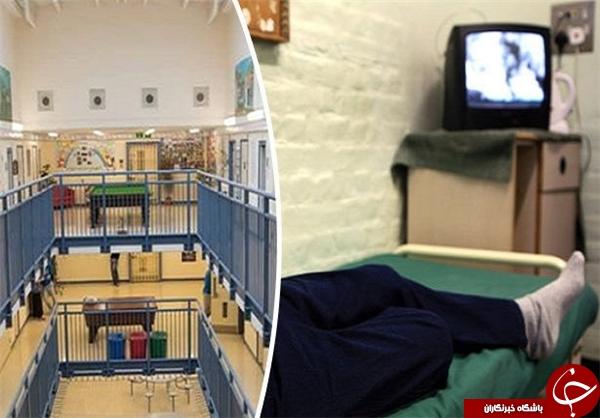 لوکسترین زندانهای جهان در انگلیس+تصاویر
