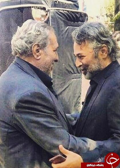 2 بازیگر مرحوم 45 روز پیش در آغوش هم+عکس