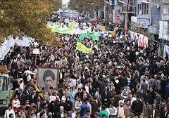 مسیرهای راهپیمایی 22 بهمن در استان سمنان