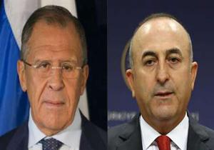 گفتگوی وزرای خارجه روسیه و ترکیه درباره آتشبس سوریه