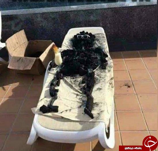 شوخی استرالیاییها با موج گرمای شدید +تصاویر