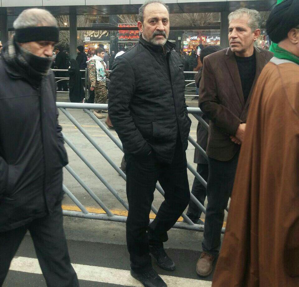 حضور مسئولان ورزشی در مراسم 22 بهمن