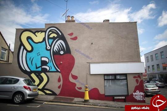فستیوال گرافیتی و هنر خیابانی هارتفورد 2017 +تصاویر