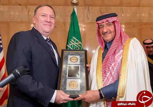 اعطای مدال مبارزه با تروریسم سازمان سیا به ولیعهد سعودی!+تصاویر////