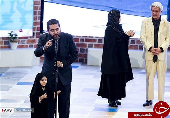 حجاب جالب توجه یک دختر در اختتامیه فجر