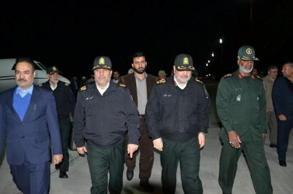 باشگاه خبرنگاران - فرمانده نیروی انتظامی وارد زاهدان شد + تصاویر