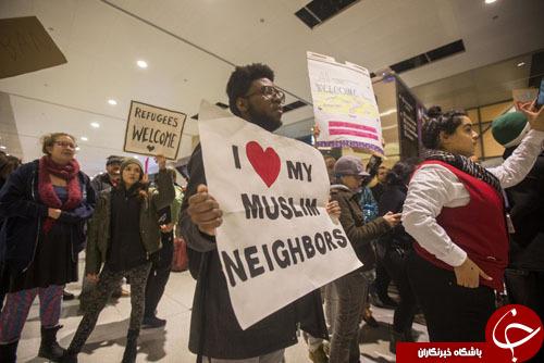 بازداشت صدها مهاجر در آمریکا+تصاویر