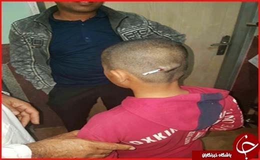 تنبیه وحشتناک دانش آموز در رودبار + تصاویر