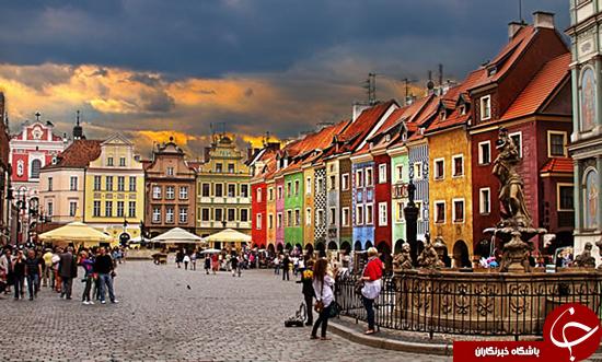 رنگارنگترین مکانها در جهان +تصاویر