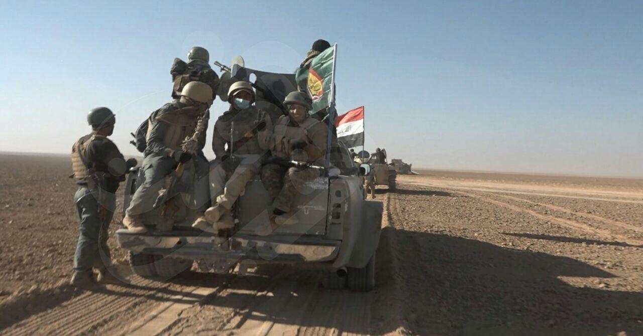 مقابله بسیج مردمی عراق با هجوم داعش به غرب تلعفر/ انهدام 17 خودروی بمبگذاری شده