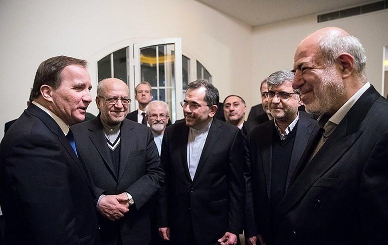 وزارت خارجه پاسخگوی قرردادهای تجاری ایران و سوئد در خانه شخصی سفیر سوئد باشد