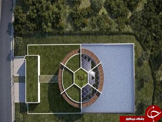 خانه فوق مدرن لیونل مسی! + تصاویر