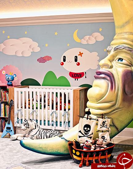 اتاقخوابهای عجیب کودکان +تصاویر