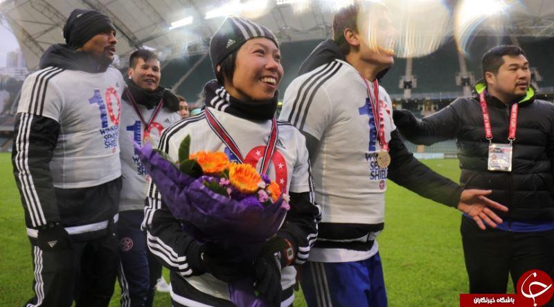 اولین سرمربی زن در لیگ قهرمانان آسیا!+عکس