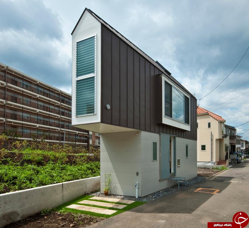 تصاویری از معماری شگفت انگیز یک خانه ۵۵ مترمربعی