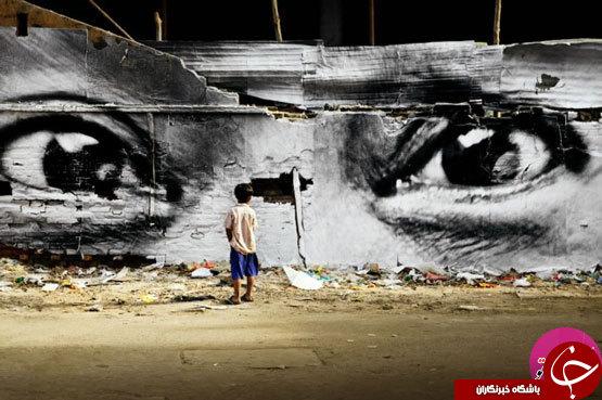 طراحی های خیرهکنندهی سهبعدی خیابانی +تصاویر