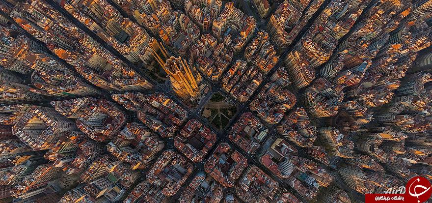 نمایی از ساختمان های معروف جهان که هرگز ندیده اید+تصاویر
