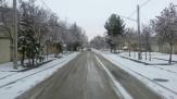باشگاه خبرنگاران - بارش برف در خراسان شمالی / تردد با زنجیرچرخ