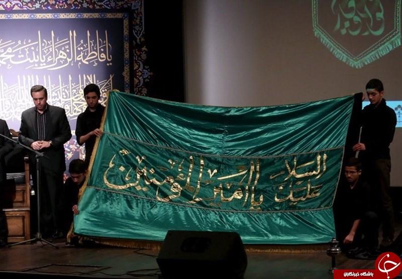 هدیه رهبر انقلاب به هیئت رزمندگان اسلام+عکس