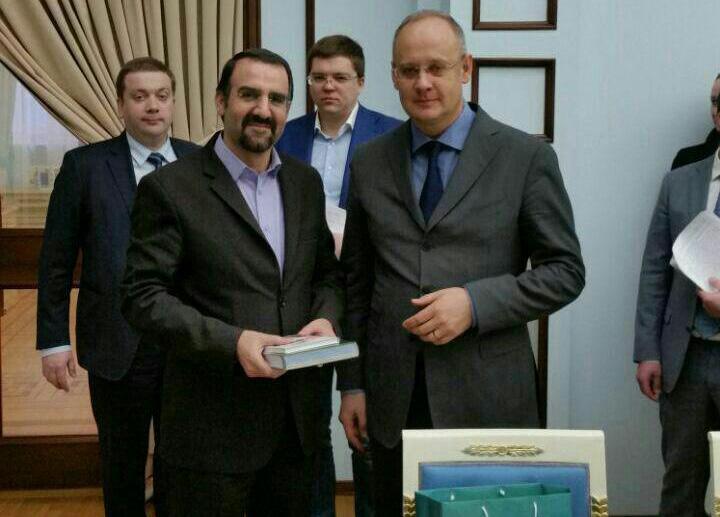 دیدار سفیر ایران در روسیه با مشاور پوتین