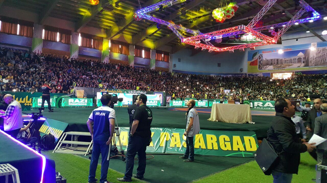 ایران با پیروزی 5 بر 3 مقابل آمریکا قهرمان جام جهانی کشتی آزاد 2017 شد