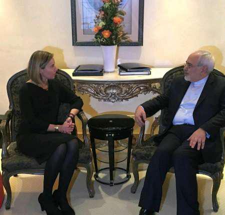 وزیر امور خارجه کشورمان با موگرینی دیدار کرد