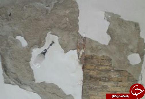 تخریب 14 مدرسه در مرودشت + تصاویر