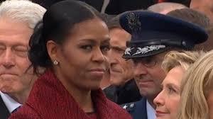 حالتهای چهره میشل اوباما در مراسم تحلیف ترامپ، سوژه داغ فضای مجازی+تصاویر