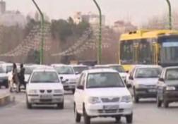 باشگاه خبرنگاران - جولان خودروهای تک سرنشین در اصفهان + فیلم