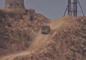 لحظه انهدام خودروی زرهی سعودی + فیلم