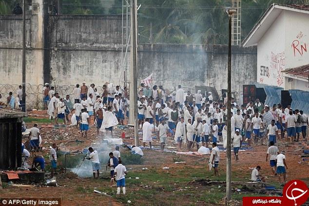 در زندانهای برزیل چه میگذرد؟ +تصاویر