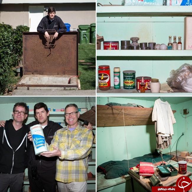 کشف عجیب ترین اشیاء در حیاط خانه ها+تصاویر