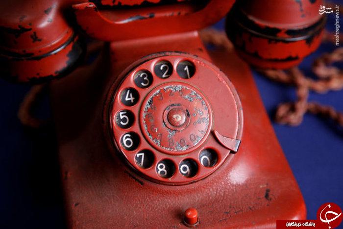 حراج تلفن ویرانگر هیتلر در جنگ جهانی +عکس