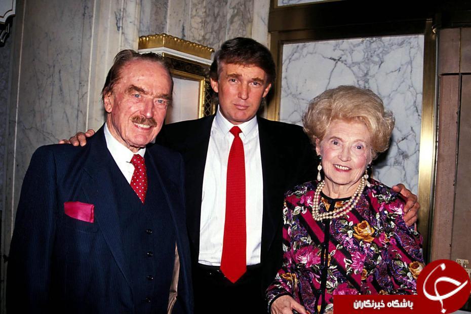 مادر ترامپ یک خدمتکار بود