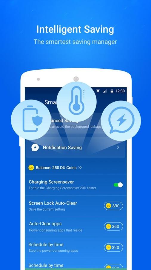 دانلود DU Battery Saver برای اندروید / قدرتمندترین نرم افزار کاهش مصرف باتری