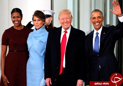 شخصیت شناسی دونالد ترامپ و همسرش از رنگ لباس+ تصاویر