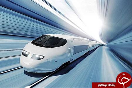 قطاری که با سرعت صوت حرکت می کند+ تصاویر